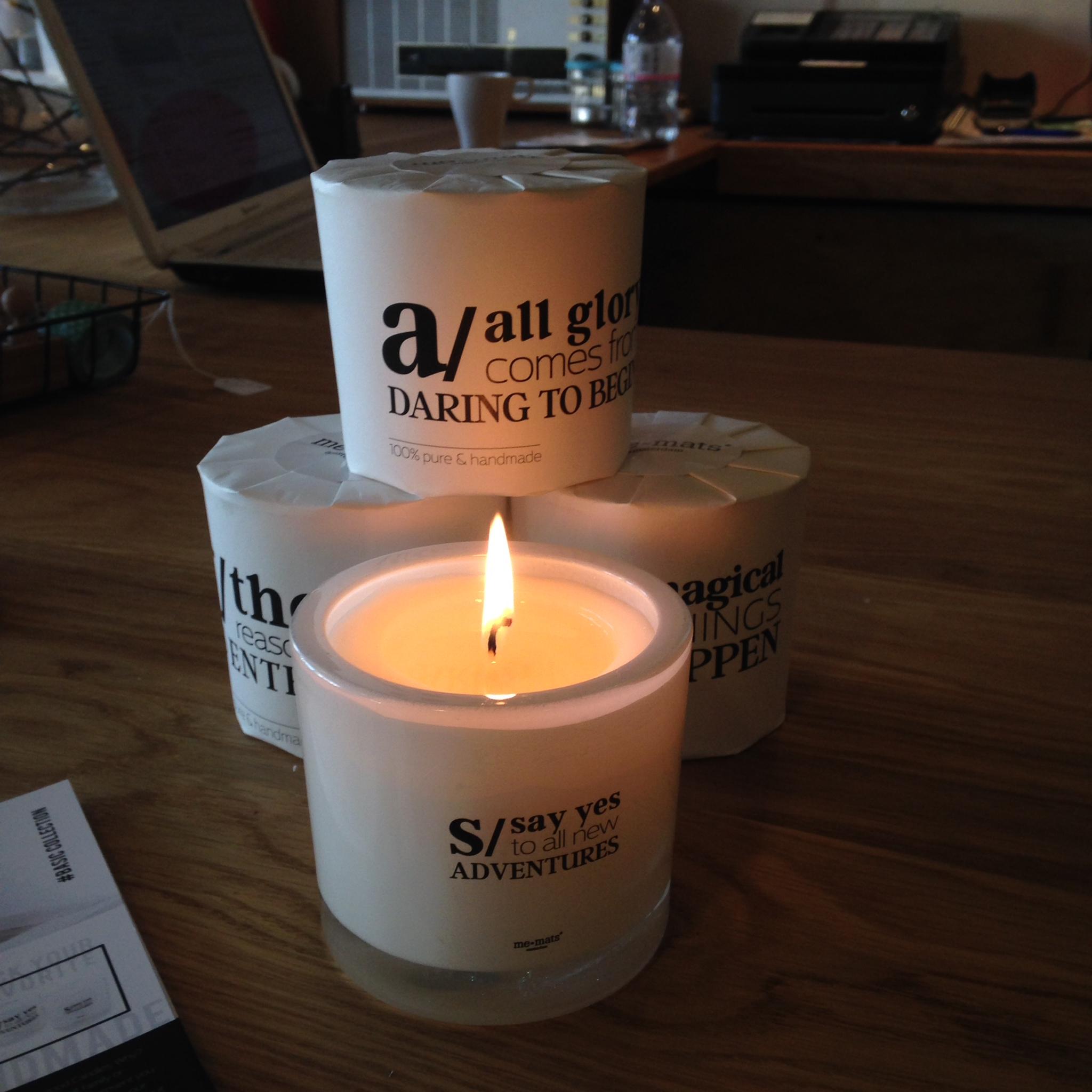 kaarsen voor een goed gevoel