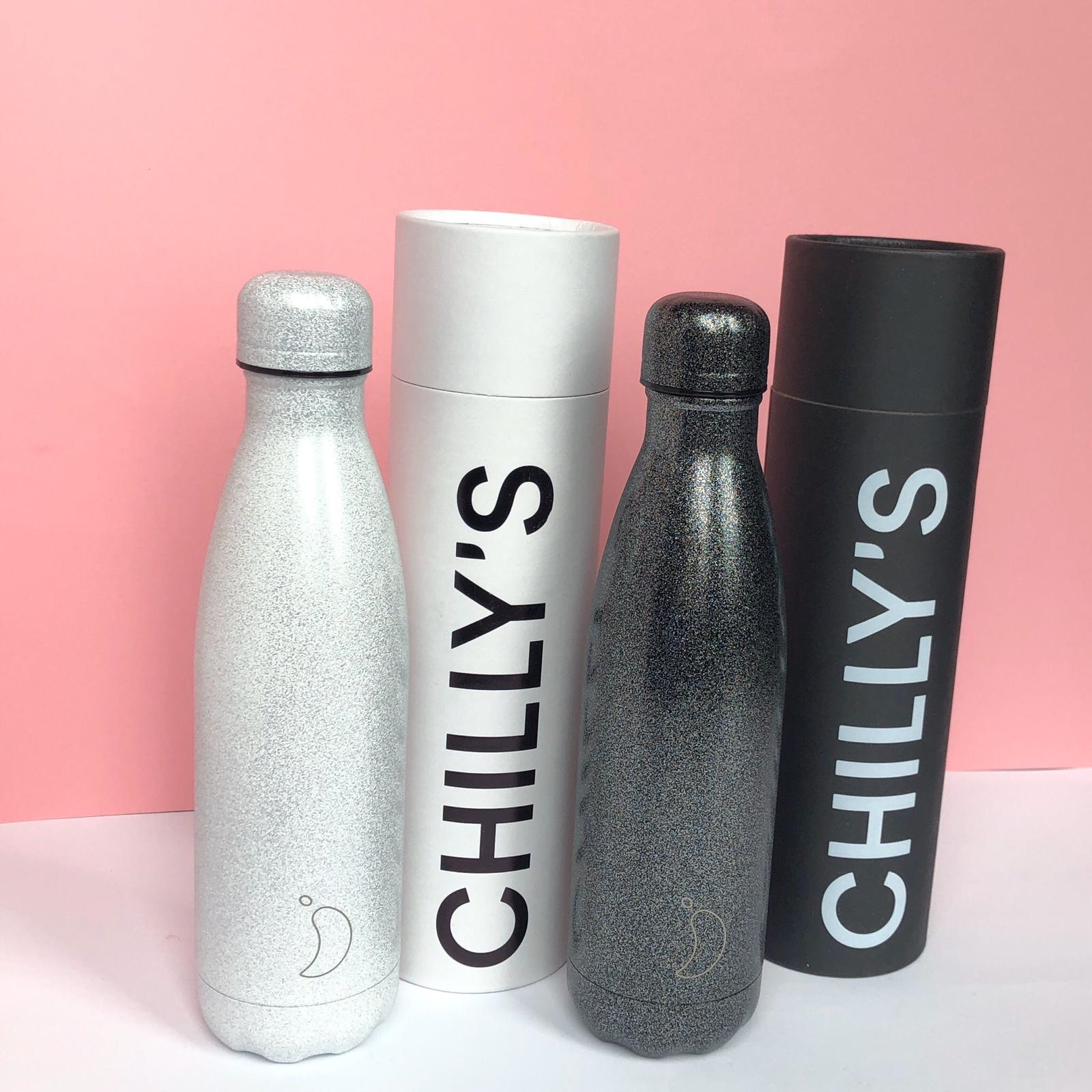chilly's bottles glitter